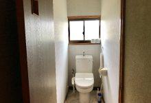 トイレは洋式水洗になってます