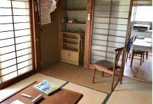玄関入ってすぐの和室①6畳(居間)
