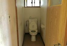 トイレは洋式、水洗化済みです