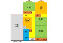 №58(スーパーコンビニ学校近し、車庫付き物件が300万円で!)
