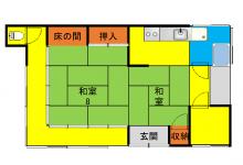 【№69】山間高台コンパクトな住宅を月額2万円の賃貸でご紹介!※交渉中